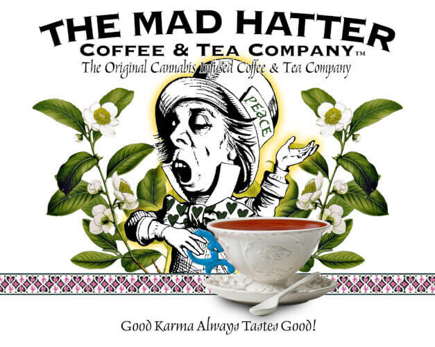 Mad Hatter Coffee Tea Co Logo