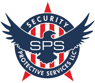 Security Protective Services Eagle Logo