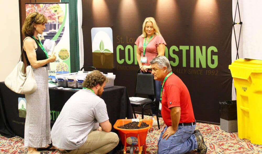 St. Louis Composting Booth