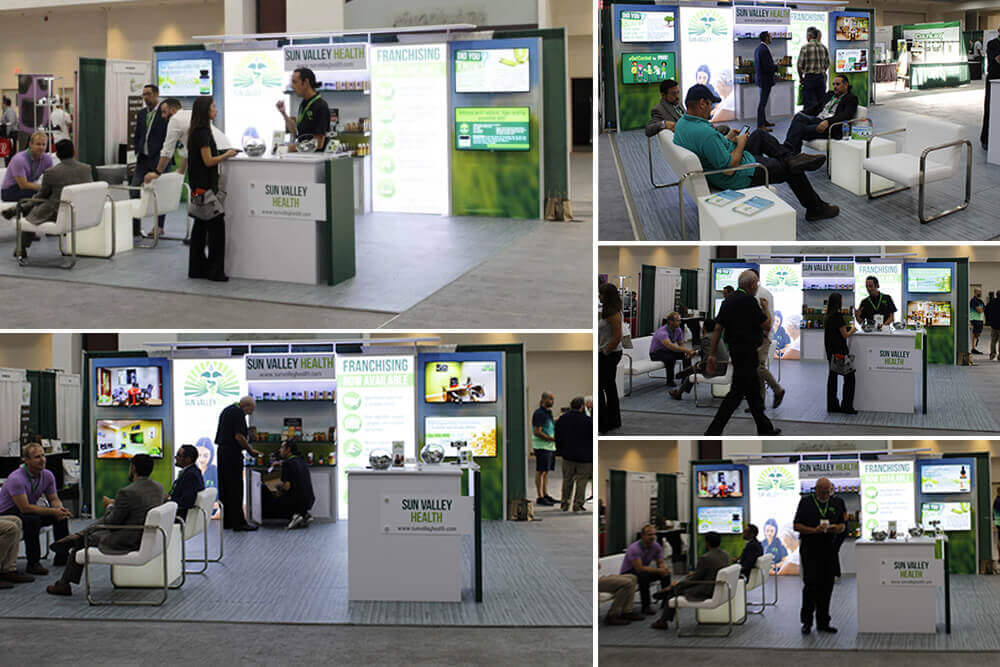 Sun Valley Health Booth Collage